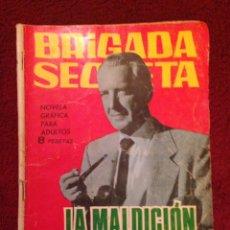 Tebeos: TEBEO 1965.- BRIGADA SECRETA