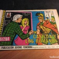 Livros de Banda Desenhada: AZUCENA Nº 1018 CASILDA Y LOS ROMANOS (TORAY) (C2). Lote 75882791