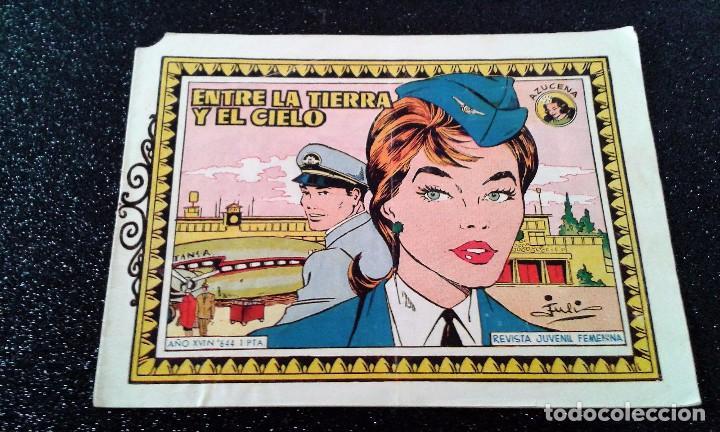 AZUCENA Nº 644 ENTRE EL CIELO Y LA TIERRA (Tebeos y Comics - Toray - Azucena)