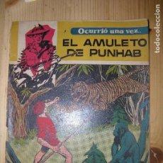 Tebeos: EL AMULETO DE PUNHAB OCURRIO UNA VEZ AÑO 1958. Lote 77265765