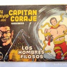 Tebeos: EL HIJO DEL CAPITAN CORAJE, LOS HOMBRES FILOSOS Nº 18 TORAY 1958. Lote 77515153