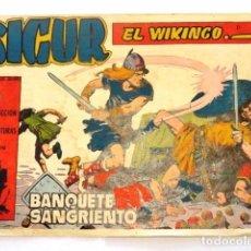 Tebeos: COMIC SIGUR EL WIKINGO , BANQUETE SANGRIENTO, TORAY. Lote 77532745