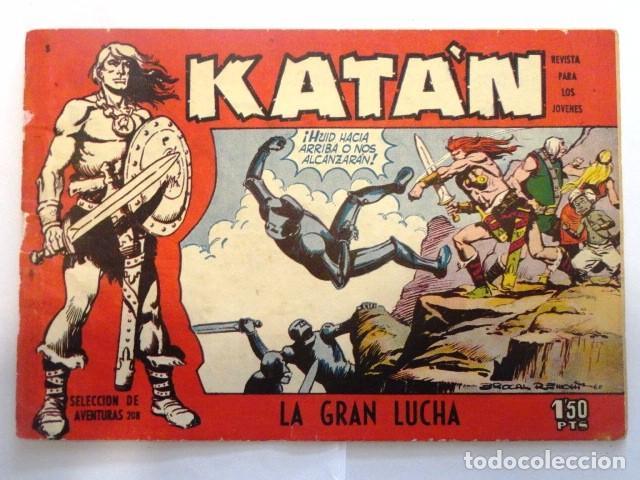 COMIC SELECCION DE AVENTURAS, KATAN LA GRAN LUCHA Nº 3 TORAY 1958 (Tebeos y Comics - Toray - Katan)