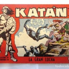Tebeos: COMIC SELECCION DE AVENTURAS, KATAN LA GRAN LUCHA Nº 3 TORAY 1958. Lote 77533349