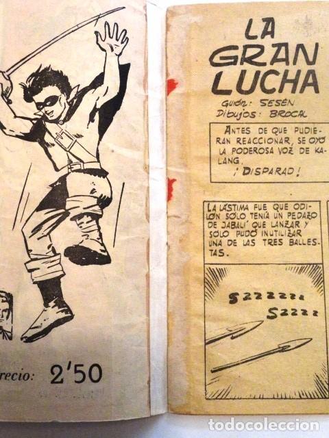 Tebeos: COMIC SELECCION DE AVENTURAS, KATAN LA GRAN LUCHA Nº 3 TORAY 1958 - Foto 3 - 77533349