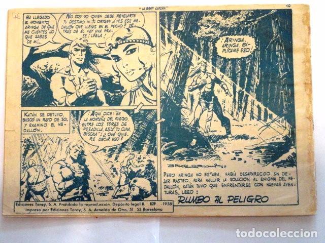 Tebeos: COMIC SELECCION DE AVENTURAS, KATAN LA GRAN LUCHA Nº 3 TORAY 1958 - Foto 7 - 77533349