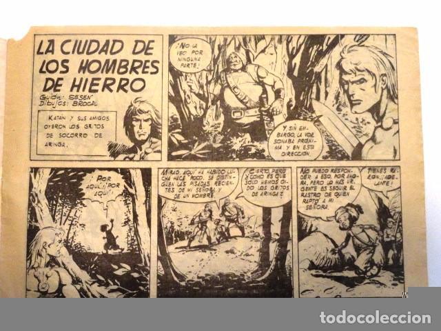 Tebeos: COMIC SELECCION DE AVENTURAS, KATAN, LA CIUDAD DE LS HOMBRES DE HIERRO Nº 4 TORAY 1958 - Foto 5 - 77533713