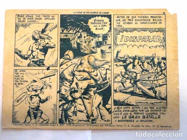 Tebeos: COMIC SELECCION DE AVENTURAS, KATAN, LA CIUDAD DE LS HOMBRES DE HIERRO Nº 4 TORAY 1958 - Foto 6 - 77533713