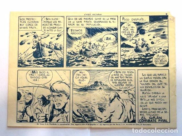 Tebeos: COMIC SELECCION DE AVENTURAS, KATAN, ATAQUE NOCTURNO Nº 47 TORAY 1958 - Foto 4 - 77533997
