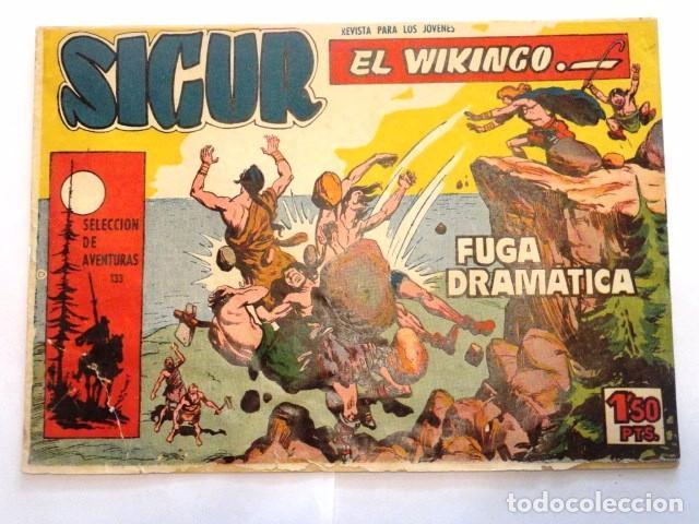 COMIC SIGUR EL WIKINGO FUGA DRAMATICA, SELECCION DE AVENTURAS TORAY (Tebeos y Comics - Toray - Hazañas Bélicas)