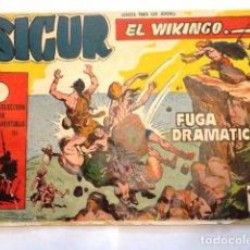 Tebeos: COMIC SIGUR EL WIKINGO FUGA DRAMATICA, SELECCION DE AVENTURAS TORAY. Lote 77535593