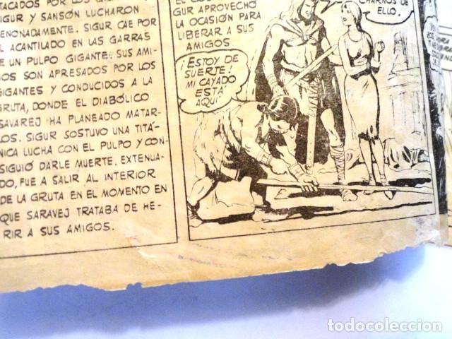 Tebeos: COMIC SIGUR EL WIKINGO FUGA DRAMATICA, SELECCION DE AVENTURAS TORAY - Foto 2 - 77535593