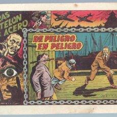 Tebeos: TRAS EL TELÓN DE ACERO ORIGINAL Nº 3 - 1954 TORAY, EXCELENTE ESTADO. Lote 77552209