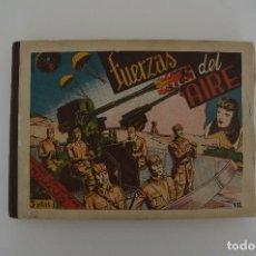Tebeos: LA VUELTA AL MUNDO DE DOS MUCHACHOS. FUERZAS DEL AIRE. Nº1 AL Nº8 ENCUADERNADO. Lote 77594629
