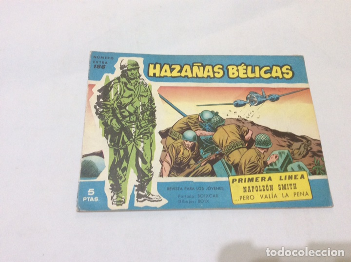 HAZAÑAS BELICAS SERIE AZUL Nº 186 -ED. TORAY (Tebeos y Comics - Toray - Hazañas Bélicas)