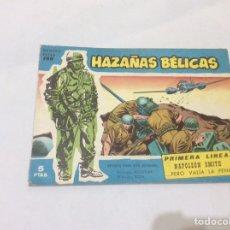Tebeos: HAZAÑAS BELICAS SERIE AZUL Nº 186 -ED. TORAY. Lote 77577997