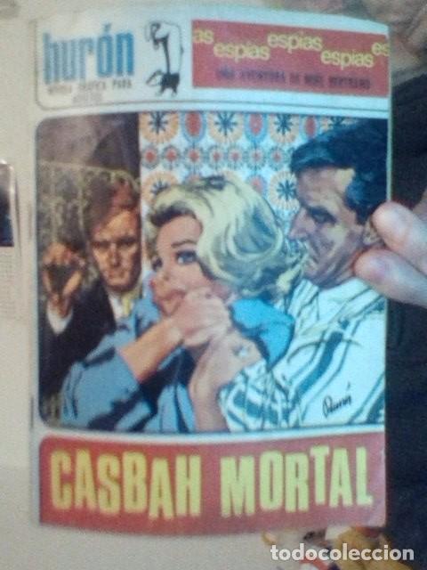 HURÓN - CASBAH MORTAL (Tebeos y Comics - Toray - Espionaje)