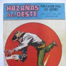 Tebeos: HAZAÑAS DEL OESTE Nº222 - EDITORIAL TORAY. Lote 78226705