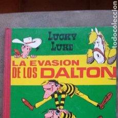 Tebeos: LA EVASIÓN DE LOS DALTON- LUCKY LUKE.EDICIONES TORAY 1964. PRIMERA EDICIÓN.. Lote 78424590