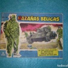 Tebeos: HAZAÑAS BELICAS AZULES NUMERO 058: EL TIRO POR LA CULATA-EL BRABUCON-TRES EN ITALIA-EDICIONES TORAY. Lote 79520393