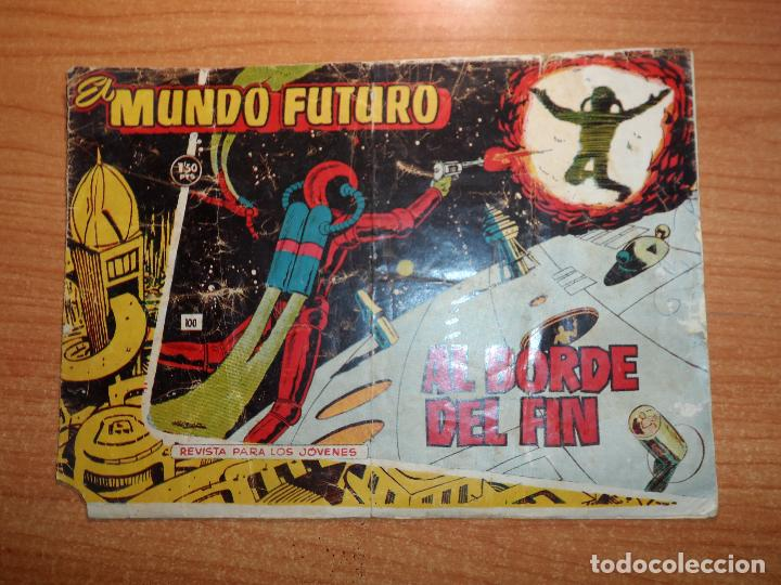 MUNDO FUTURO Nº 100 EDITORIAL TORAY ORIGINAL DIFICIL (Tebeos y Comics - Toray - Mundo Futuro)