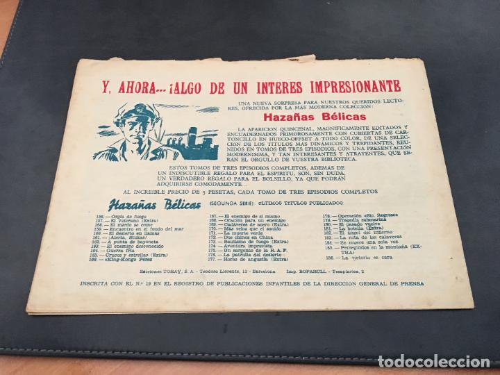 Tebeos: HAZAÑAS BELICAS Nº 186 (ORIGINAL ED. TORAY) (C2) - Foto 2 - 80321765