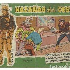 Tebeos: HAZAÑAS DEL OESTE Nº 7, 1959, TORAY, BUEN ESTADO.. Lote 147265113