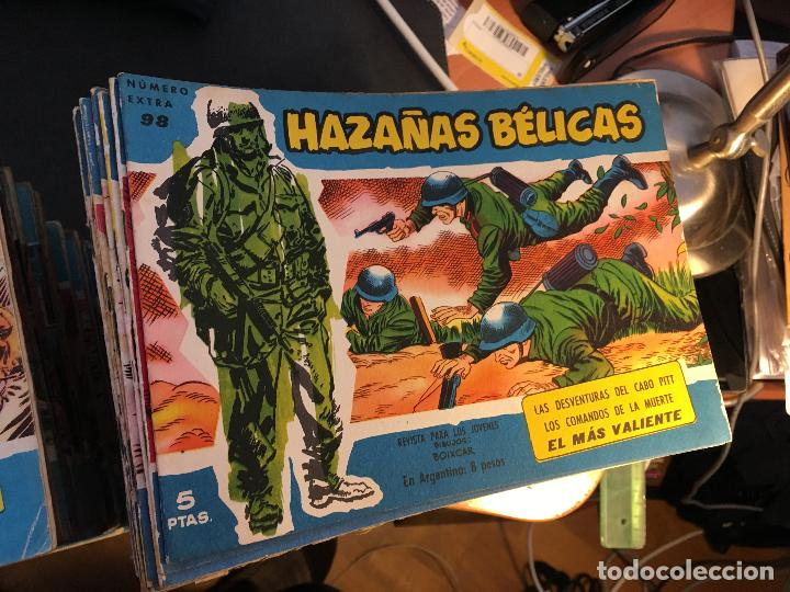 Tebeos: HAZAÑAS BELICAS EXTRA SERIE AZUL LOTE 186 (ORIGINAL ED. TORAY) (BI) - Foto 4 - 81199308