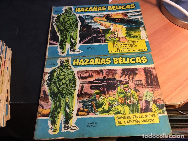 Tebeos: HAZAÑAS BELICAS EXTRA SERIE AZUL LOTE 186 (ORIGINAL ED. TORAY) (BI) - Foto 15 - 81199308