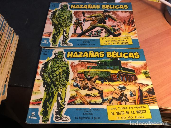Tebeos: HAZAÑAS BELICAS EXTRA SERIE AZUL LOTE 186 (ORIGINAL ED. TORAY) (BI) - Foto 47 - 81199308