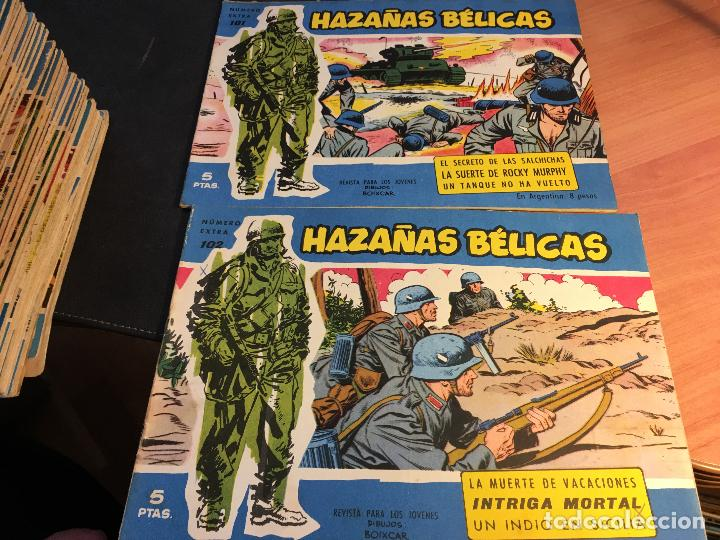 Tebeos: HAZAÑAS BELICAS EXTRA SERIE AZUL LOTE 186 (ORIGINAL ED. TORAY) (BI) - Foto 50 - 81199308