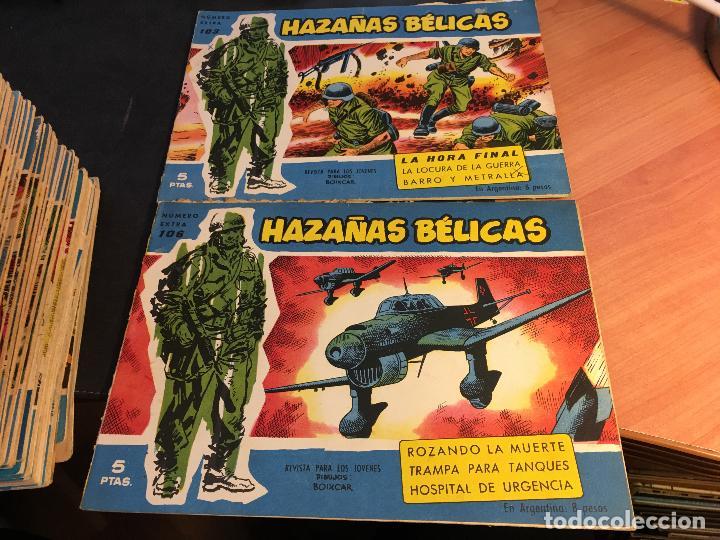Tebeos: HAZAÑAS BELICAS EXTRA SERIE AZUL LOTE 186 (ORIGINAL ED. TORAY) (BI) - Foto 51 - 81199308