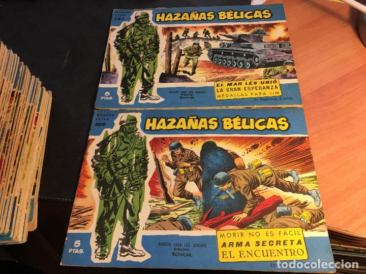 Tebeos: HAZAÑAS BELICAS EXTRA SERIE AZUL LOTE 186 (ORIGINAL ED. TORAY) (BI) - Foto 52 - 81199308