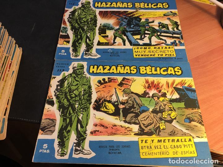 Tebeos: HAZAÑAS BELICAS EXTRA SERIE AZUL LOTE 186 (ORIGINAL ED. TORAY) (BI) - Foto 54 - 81199308