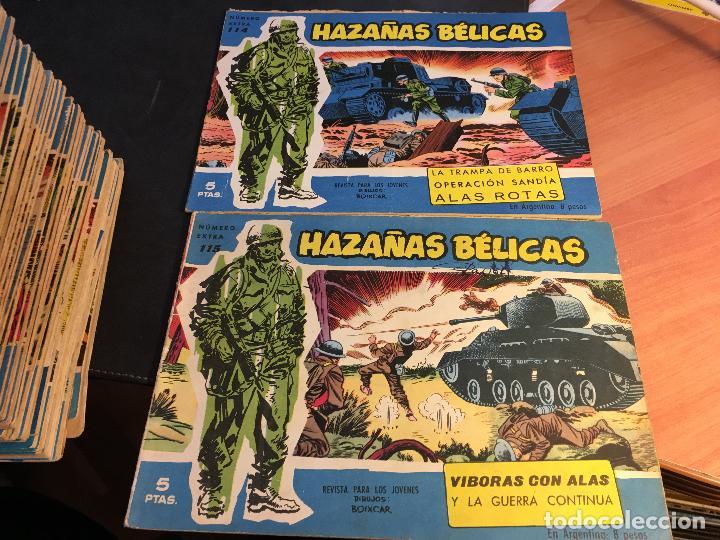 Tebeos: HAZAÑAS BELICAS EXTRA SERIE AZUL LOTE 186 (ORIGINAL ED. TORAY) (BI) - Foto 55 - 81199308
