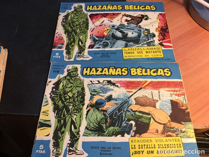 Tebeos: HAZAÑAS BELICAS EXTRA SERIE AZUL LOTE 186 (ORIGINAL ED. TORAY) (BI) - Foto 56 - 81199308