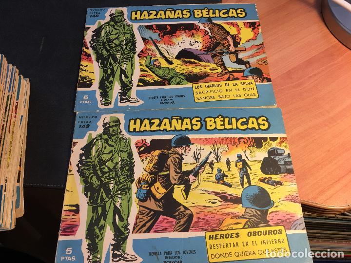 Tebeos: HAZAÑAS BELICAS EXTRA SERIE AZUL LOTE 186 (ORIGINAL ED. TORAY) (BI) - Foto 63 - 81199308