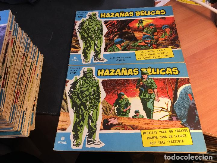 Tebeos: HAZAÑAS BELICAS EXTRA SERIE AZUL LOTE 186 (ORIGINAL ED. TORAY) (BI) - Foto 70 - 81199308