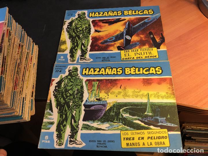 Tebeos: HAZAÑAS BELICAS EXTRA SERIE AZUL LOTE 186 (ORIGINAL ED. TORAY) (BI) - Foto 72 - 81199308