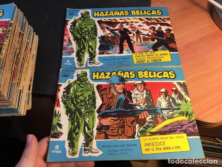 Tebeos: HAZAÑAS BELICAS EXTRA SERIE AZUL LOTE 186 (ORIGINAL ED. TORAY) (BI) - Foto 77 - 81199308