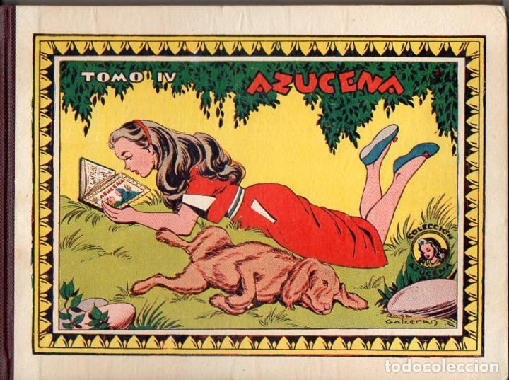 AZUCENA TOMO IV - NÚMEROS 76 AL 100 ENCUADERNADOS (Tebeos y Comics - Toray - Azucena)