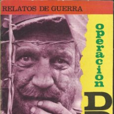 Tebeos: 9225- COMIC RELATOS DE GUERRA Nº 95- OPERACION DDT. Lote 81657340
