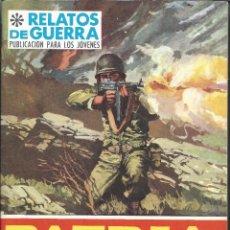 Tebeos: 9226- COMIC RELATOS DE GUERRA Nº 138- PATRIA DE ADOPCION. Lote 81657492