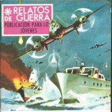 Tebeos: 9233- COMIC RELATOS DE GUERRA Nº 143- CASTA DE HÉROES. Lote 81658684
