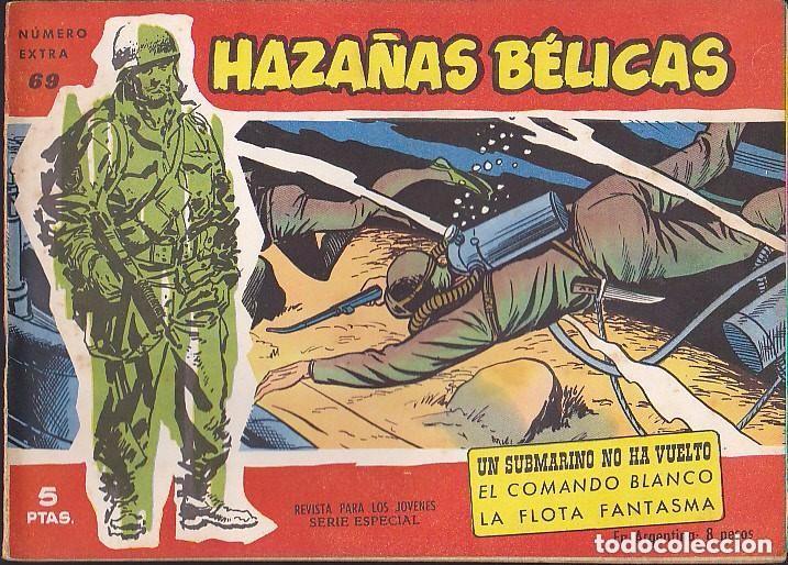 HAZAÑAS BELICAS NUMERO EXTRA 69 CUBIERTA ROJA (Tebeos y Comics - Toray - Hazañas Bélicas)