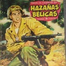 Tebeos: HAZAÑAS BÉLICAS 27 DEMASIADO DURO NOVELAS GRÁFICAS DE GUERRA EDICIONES TORAY 1962 . Lote 81942528