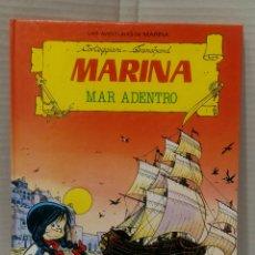 Tebeos: MARINA MAR ADENTRO. CORTEGGIANI. TRANCHAND. NUEVO. TORAY. 1987.. Lote 81959586