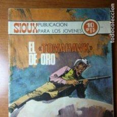 Tebeos: SIOUX Nº 180. EL TOMAHAWK DE ORO.. Lote 82213816