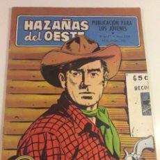 Tebeos: HAZAÑAS DEL OESTE LOS CUERVOS RIEN. Lote 82741300