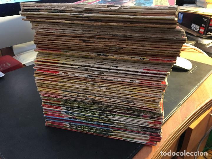 HAZAÑAS BELICAS SERIE ROJA EXTRA LOTE 69 EJEMPLARES (ED. TORAY ORIGINAL) (B1) (Tebeos y Comics - Toray - Hazañas Bélicas)